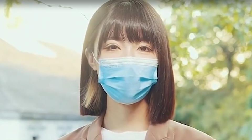 杭州郑女士摘掉口罩了,颜值你还满意吗