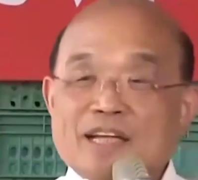 苏贞昌放大话:台湾一人一个 菠萝都不够吃