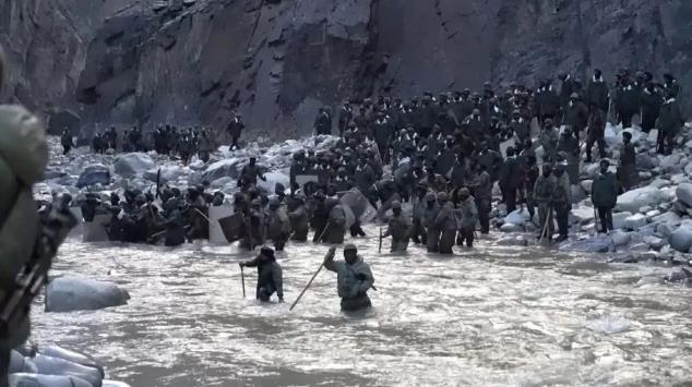 这段视频记录了喀喇昆仑那场英勇战斗